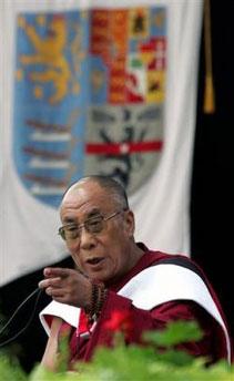 Далай-лама в Америке