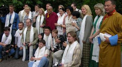 Встреча с Далай-ламой