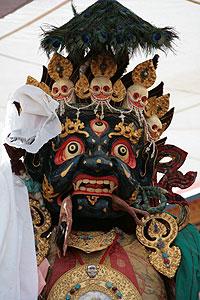 Трехметровая Палден Лхамо, защитница Тибета и Далай-ламы