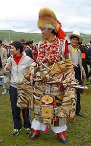 Тибетские наряды