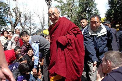 Духовный лидер Тибета Его Святейшество Далай-лама