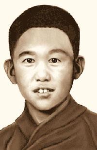 Так Панчен-лама XI мог выглядеть в 11 лет (этот фоторобот сделан в 2000 году). Сейчас ему 16 лет.