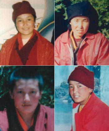 В июне 1998 пять монахинь умерли в тюрьме Драпчи после недели пыток. ICT удалось разыскать фотографии пятерых из них: Друкьи Пема, Цултрим Зангмо, Лобсанг Вангмо, Таши Лхамо.