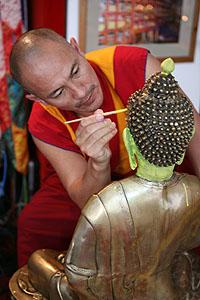 Тибетские монахи Гьюдмеда посетили Краснодар