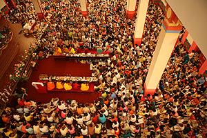 Ритуал Зеленой Тары в «Золотой обители Будды Шакьямуни»