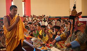 Во время ритуала самопосвящения Ямантаки