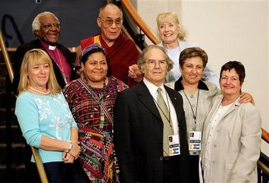 Нобелевсекие лауреаты и Его Святейшество Далай-лама