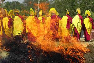 В Калмыкии пройдут большие буддийские ритуалы