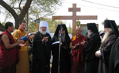 Верховный лама Калмыкии пригласил председателя ОВЦС МП митрополита Кирилла посетить с официальным визитом резиденцию Далай-ламы
