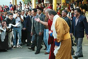 Далай-лама XIV: «Мы, тибетцы, несем ответственность за народы Монголии и буддийских регионов России…»