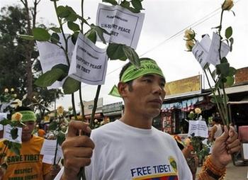 Судьба тысячи арестованных тибетцев неизвестна
