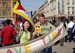 Акции в поддержку Тибета в России и СНГ