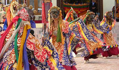 К юбилею главного буддийского храма Калмыкии монахи монастыря Дзонкар Чоде исполнят масштабную церемонию Цам