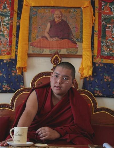 Досточтимый Линг Ринпоче дарует в Бодхгае учения по сочинению Чже Цонкапы «Основа всех благих достоинств» и посвящение Желтого Дзамбалы