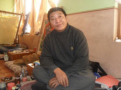 Школа тибетской тханкописи. Декабрь 2010