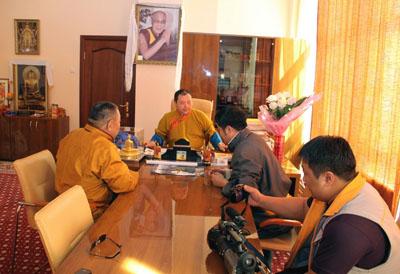 Съемочная группа из Монголии снимет в Калмыкии фильм о буддизме