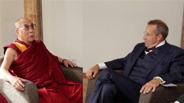 Президент Эстонии встертился c Далай-ламой