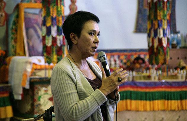Лариса Шойгу рассказала о своей встрече с Далай-ламой
