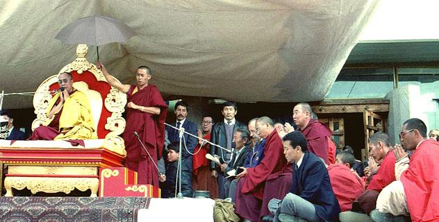 О визите Далай-ламы в Россию. Объединение буддистов Тувы направило открытое письмо С.В.Лаврову