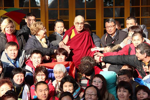 Учения для буддистов России – 2012 и другие события зимнего паломничества в Индию