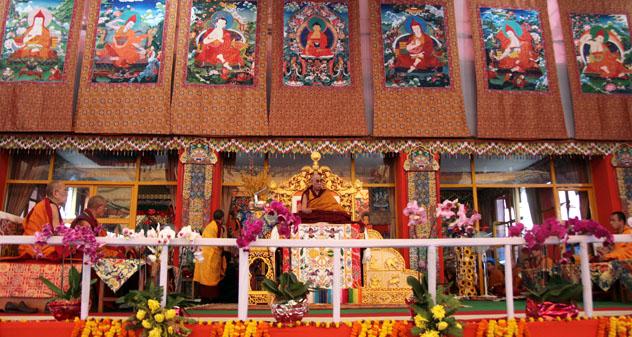Его Святейшество Далай-лама назвал главных учеников посвящения Калачакры