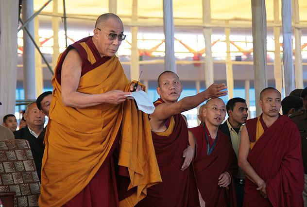 Далай-лама призвал паломников из зарубежных стран, в том числе из России, учиться у Индии веротерпимости