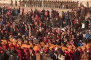 Фото. В тибетском монастыре Лабранг начался молитвенный фестиваль