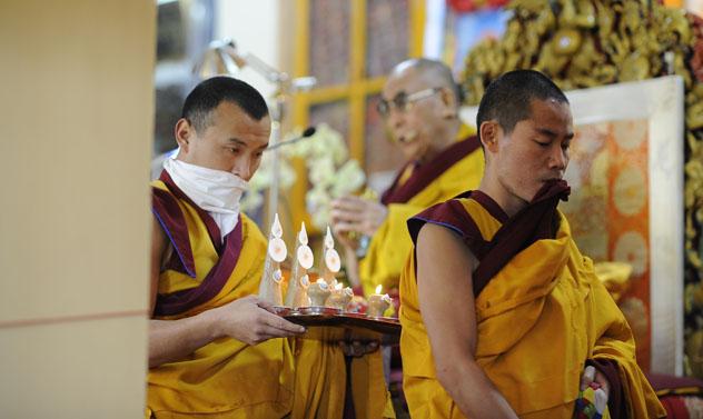 Его Святейшество Далай-лама порекомендовал Туве ритуалы для предотвращения природных катаклизмов
