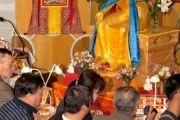 Фоторепортаж. В Улан-Баторе открылась выставка священных буддийских реликвий