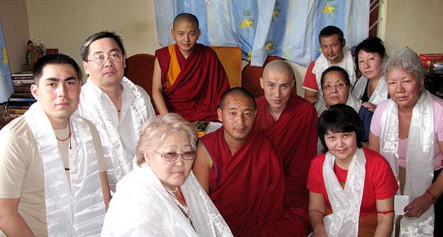 Кунделинг Ринпоче дарует в Калмыкии благословение Манджушри и посвящение Белой Тары