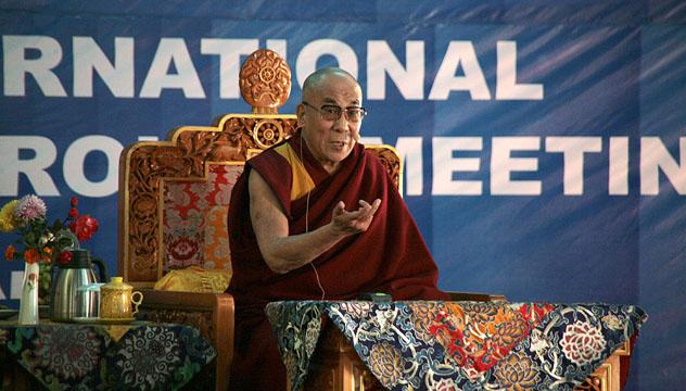 Его Святейшество Далай-лама призвал участников международной встречи групп поддержки Тибета помочь сохранению культуры и природы Тибета