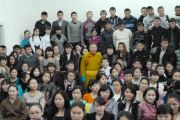 Встреча Тело Тулку Ринпоче со студентами и преподавателями педагогического колледжа ТувГУ.