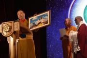 Празднование пятнадцатилетия института Камбы-ламы (верховного ламы) Республики Тыва.