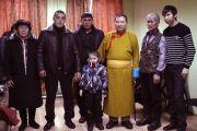 Встреча Тело Тулку Ринпоче с земляками в Центре традиционной культуры в г. Кызыл.