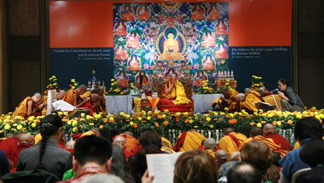РИА Новости: Далай-лама советует для счастья осознать взаимозависимость всех вещей