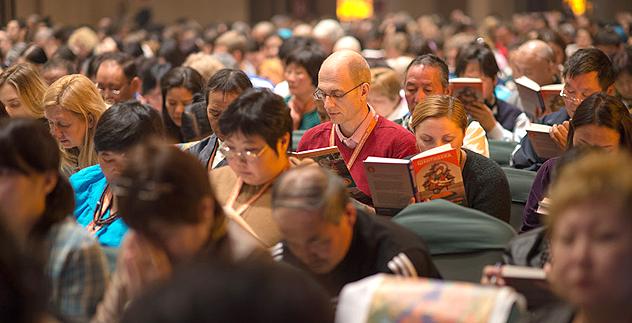 Учения Его Святейшества Далай-ламы для буддистов России — 2013