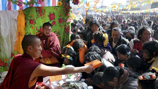 Amnesty International проводит срочную акцию за освобождение настоятеля тибетского монастыря