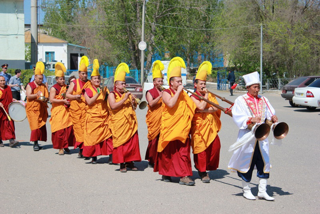 Программа визита в Калмыкию монахов землячества Нгари Канцен монастыря-университета Дрепунг Гоманг