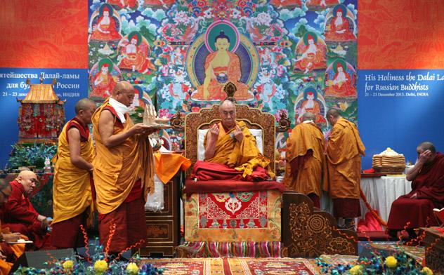 Объявлены даты Учений для буддистов России в Дели