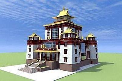 Глава Тувы приложит все усилия для строительства большого буддийского комплекса в Кызыле