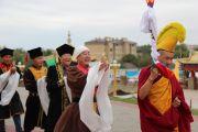 Фото. В главном храме Калмыкии проведен ритуал призывания удачи и благополучия