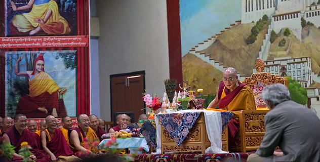 Прямая трансляция. Далай-лама. Учения о буддийском представлении о сознании и психологии