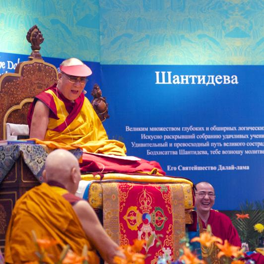 Учения Его Святейшества Далай-ламы в декабре 2015 г./январе 2016 г. в Индии