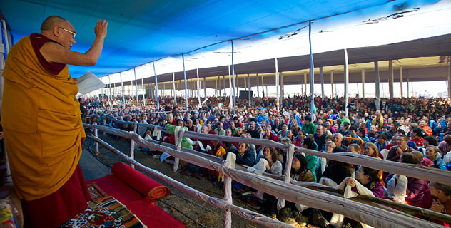 Посвящение Калачакры в Бодхгае перенесено на следующий год