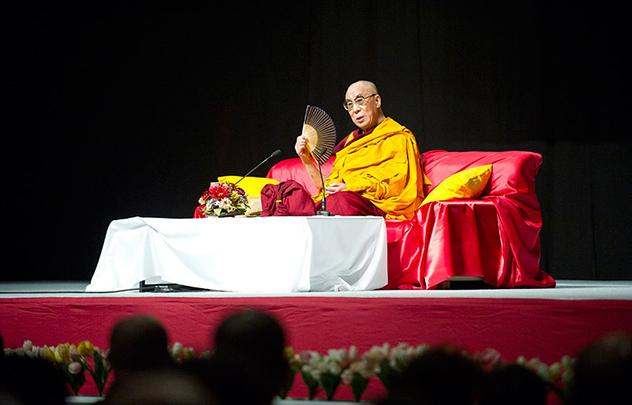 Прямая трансляция. Далай-лама. Учения в Японии
