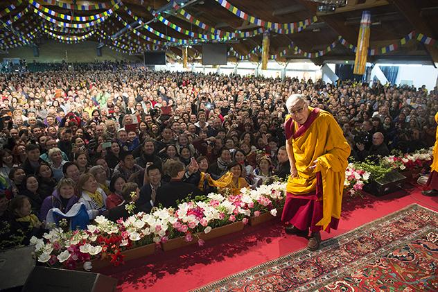 Билеты на учения Его Святейшества Далай-ламы в Риге поступают в продажу завтра