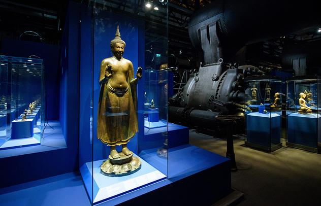 В Германии открывается крупнейшая выставка, посвященная Будде