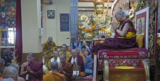 Прямая трансляция. Учения Далай-ламы по «Драгоценной гирлянде» Нагарджуны