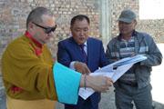 Глава Тувы и почетный представитель Его Святейшества Далай-ламы Тэло Тулку Ринпоче  посетили место строительства буддийского комплекса и открыли конференцию