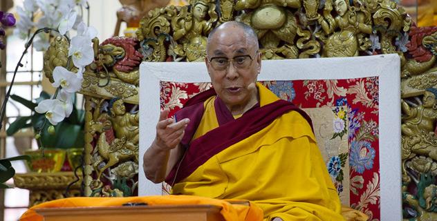 Прямая трансляция. Его Святейшество Далай-лама. Учения по 400 строфам Арьядевы